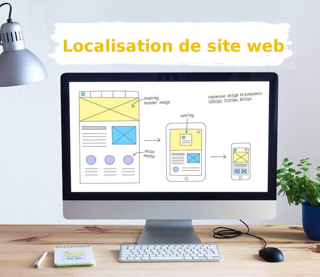 localisation site internet