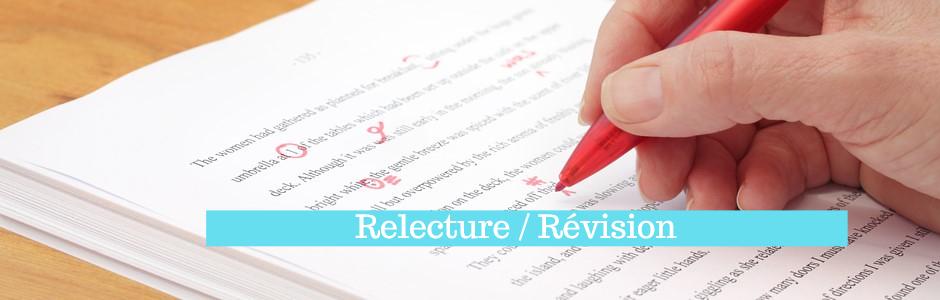 différence relecture révision